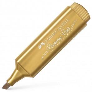 FABER CASTELL Textmarker Textliner 46 Metallic gold