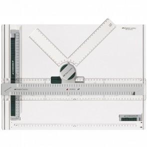 FABER CASTELL Zeichenplatte TK-SYSTEM PLUS A3 mit Zeichenkopf