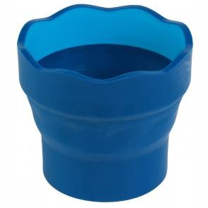 FABER CASTELL Wasserbecher CLIC & GO blau