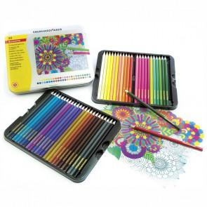 EBERHARD FABER Farbstifte 48 Farben im Metall-Etui
