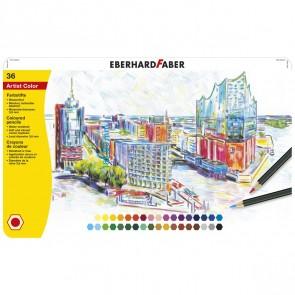 EBERHARD FABER Farbstifte Artist Color wasserfest 36 Stück im Metalletui