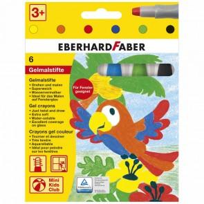 EBERHARD FABER Gelmalstifte Classic 6 Farben im Kartonetui
