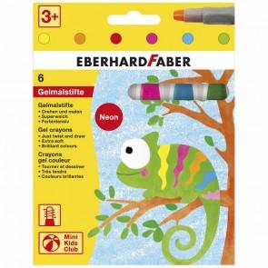 EBERHARD FABER Gelmalstifte Neon 6 Farben im Kartonetui