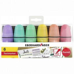 EBERHARD FABER Textmarker Mini pastell 6 Farben