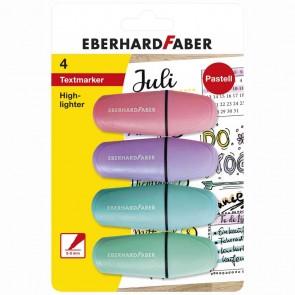 EBERHARD FABER Textmarker Mini pastell 4 Farben