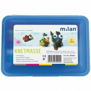 MILAN Knet-Schulbox blau