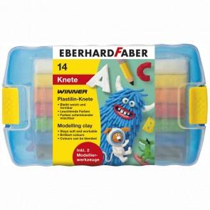 EBERHARD FABER Plastilin Knete in Kunststoffbox
