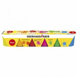 EBERHARD FABER Schulmalfarben 6 x 25ml Set neon
