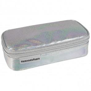 EBERHARD FABER Schlamperbox JUMBO glitter silber