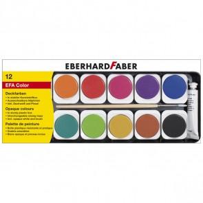EBERHARD FABER Deckfarbkasten 12 Farben