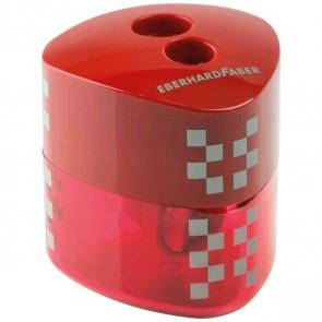 EBERHARD FABER Dosenspitzer Winner dreikant rot 2-Loch mit Verschluss-Automatik