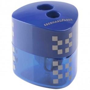 EBERHARD FABER Dosenspitzer Winner dreikant blau 2-Loch mit Verschluss-Automatik