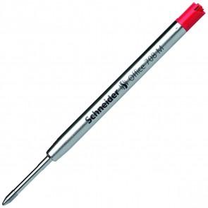 SCHNEIDER Grossraum Kugelschreibermine G2 Office 708 M rot 10 Stück