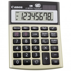 CANON Tischrechner LS-80 TEG