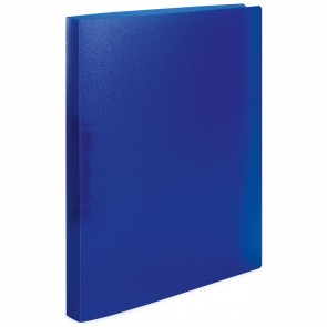 HERMA Ringbuch A4 2-Ring 25mm PP transluzent dunkelblau