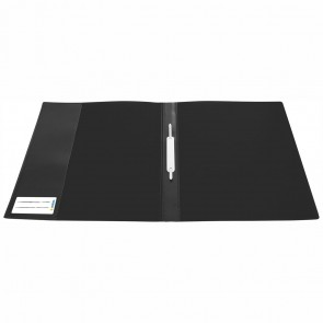 HERMA Schnellhefter Kunststoff A4 schwarz extra stark