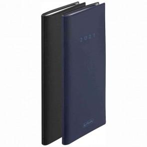 HERLITZ Taschenkalender 9,5x16cm 2021 1 Woche = 2 Seiten 128 Seiten Folie