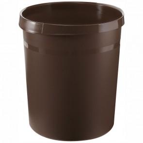 HAN Papierkorb GRIP 18190 18 Liter braun