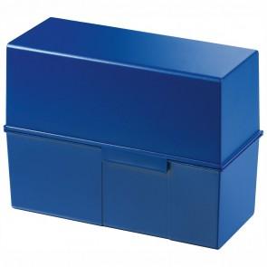 HAN Karteikasten 975 A5 quer für 450 Karten blau