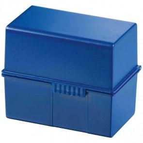 HAN Karteikasten 977 A7 für 300 Karten blau