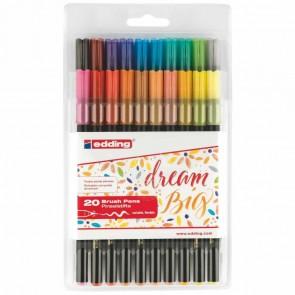 EDDING Pinselmaler Brushpen 1340 1-5mm 20 Farben