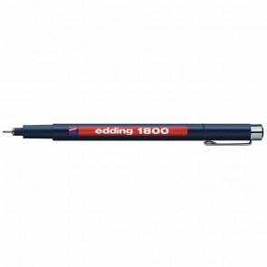 EDDING Fineliner 1800 profipen 0,1mm blau