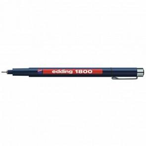 EDDING Fineliner 1800 profipen 0,5mm schwarz