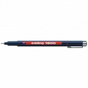 EDDING Fineliner 1800 profipen 0,7mm rot