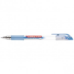 EDDING Gelschreiber Crystaljelly 2185 blau metallic 0,7mm