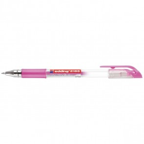 EDDING Gelschreiber Crystaljelly 2185 pink metallic 0,7mm