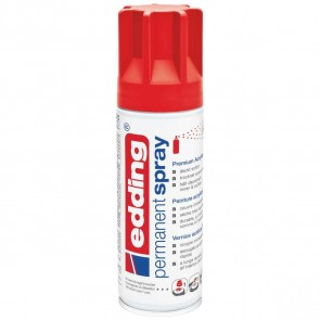 EDDING Acryllack Spray 5200 200ml verkehrsrot matt RAL 3020