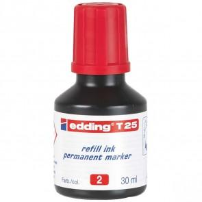 EDDING Nachfülltinte T25 rot 30ml für edding Permanentmarker