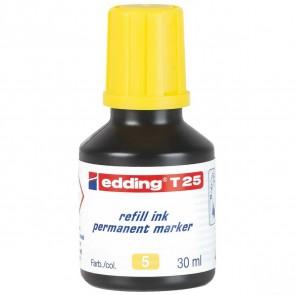 EDDING Nachfülltinte T25 gelb 30ml für edding Permanentmarker