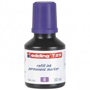 EDDING Nachfülltinte T25 violett 30ml für edding Permanentmarker