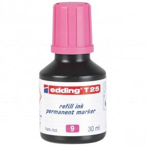 EDDING Nachfülltinte T25 rosa 30ml für edding Permanentmarker