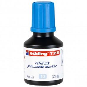 EDDING Nachfülltinte T25 hellblau 30ml für edding Permanentmarker