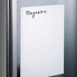 LEGAMASTER Magnetfolie 20x30cm weiß 0,7mm Haftkraft ca. 35g/cm²