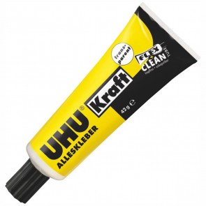UHU Alleskleber Kraft 45040 42 g FLEX + CLEAN Tube