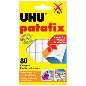 UHU Klebepad tac patafix 48810 weiß 80 Stück ablösbar
