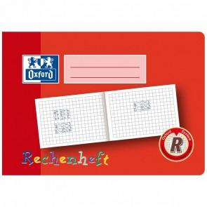 OXFORD Rechenheft / Zahlenheft A5 quer kariert 16 Blatt