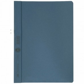 ELBA Klemmhandmappe 36450 ohne Vorderdeckel blau RC-Karton