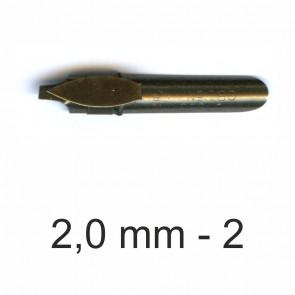 BRAUSE Bandzug Zeichenfeder 2,0mm