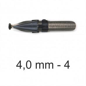 BRAUSE Ornament Zeichenfeder 4,0mm