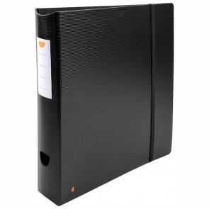 EXACOMPTA Ordner Exactive 53534E Kunststoff 60mm schwarz