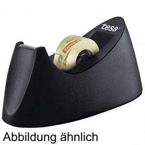 TESA tesafilm® Tischabroller Curve schwarz