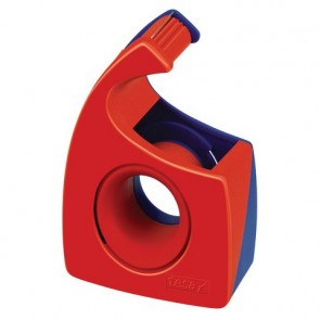 TESA Handabroller Easy Cut 57443 bis 10m x 19mm rot / blau