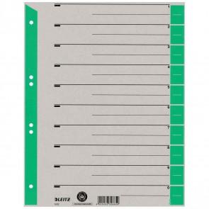 LEITZ Trennblätter 1652 A4 230g Tab grün 100 Stück