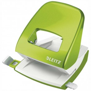 LEITZ Locher NeXXt 5008 Metall grün metallic bis 30 Blatt