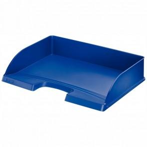 LEITZ Briefablage Plus A4 quer 5218 blau