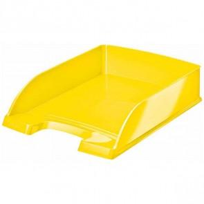 LEITZ Briefablage 5226 A4 WOW Plus gelb metallic